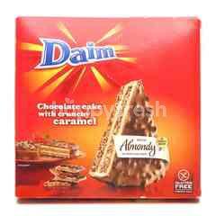 Daim Chocolate Cake With Crunchy Caremel