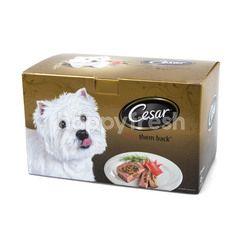ซีซาร์ อาหารสุนัข เนื้อวัวและตับ
