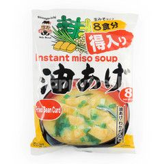Miko Brand Instant Miso Soup Fried Bean Curd