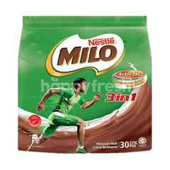 Nestle Milo Activ-Go 3 In 1 Chocolate Malt Drink (30pcs x 33g)
