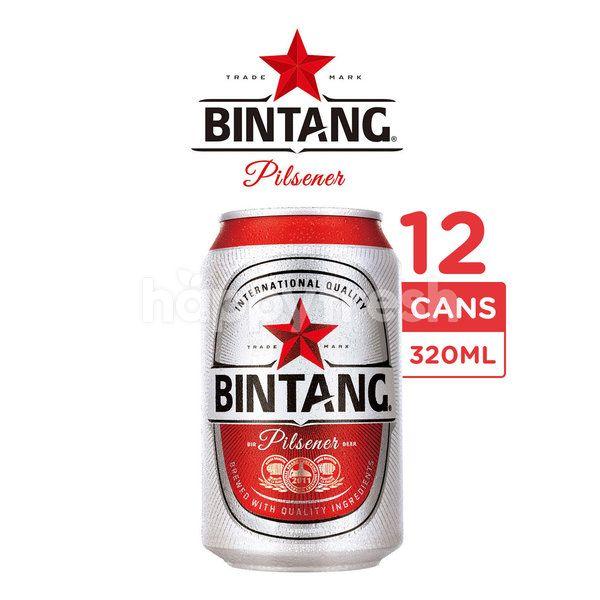 Bintang Pilsener Canned Beer 12 Packs