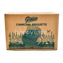 Giant Charcoal Briquette