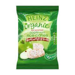 Heinz Organic Apple Mini Rice Cakes With Wholegrains