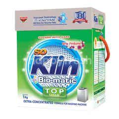 SoKlin Bio-Matic Powder Laundry Detergent Top Load