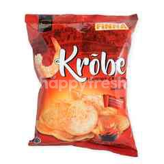 Finna Krobe Shrimp Crackers Hot and Spicy