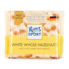 Ritter Sport Whole Hazelnuts White Chocolate