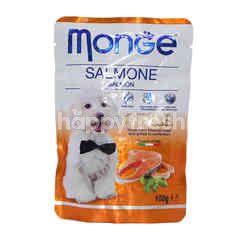 MONGE Salmon Flavoured Grill Dog Food