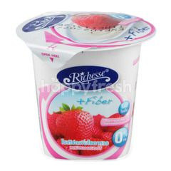 Richesse Yogurt + Fiber With Strawberry