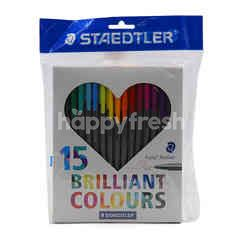 Staedtler Brilliant Colours (15 Pieces)