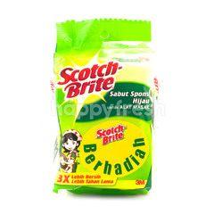 Scotch-Brite Green Scouring Sponge