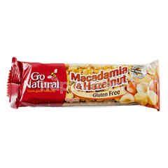 GO NATURAL Macadamia dan Hazelnut