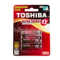 Toshiba AAA Alkaline Batteries