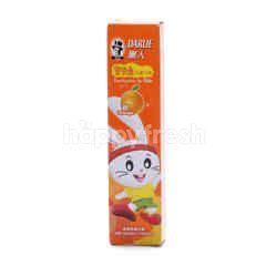 Darlie Toothpaste For Kids With Orange Flavor