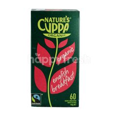 FAIRTRADE Nature's Cuppa Organic English Breakfast Tea