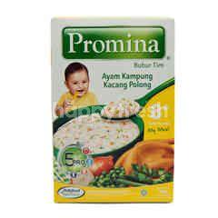 Promina Steamed Porridge Kampong Chicken and Peas