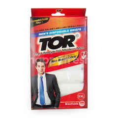Tor Men's Disposable Briefs XXL