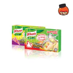 Knorr Assorted 6 Cubes Box Seasoning