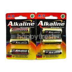 ABC Alkaline Battery Millenium Power 1.5V