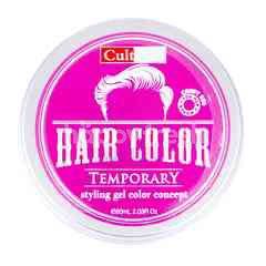 Cultusia Gel Penata Rambut Warna Temporer Candy Red