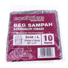 Eco House Garbage Bag L Size (10 Pieces)