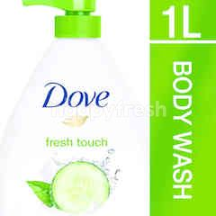 Dove Go Fresh Shower Gel Fresh Touch 1L