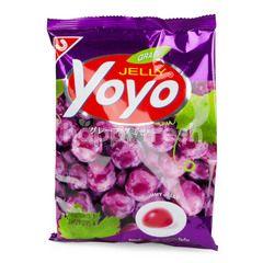Yoyo Gummi Candy Grape