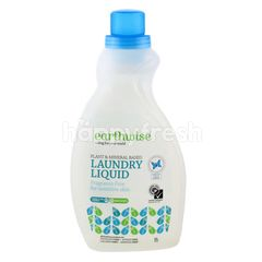 Earthwise Plant & Mineral Based Laundry Liquid Fragrant Free For Sensitive Skin