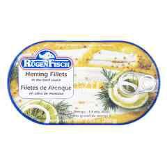 Rugen Fisch Herring Fillet In Mustard-Sauce