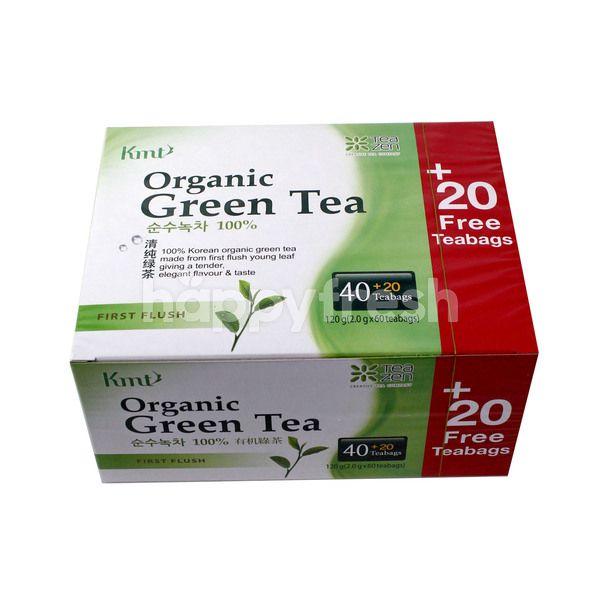 Kmt Organic Green Tea (60 Tea Bags)