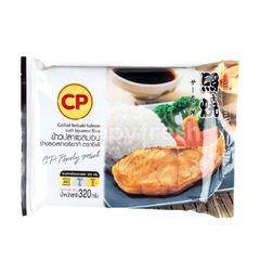 CP Grilled Teriyaki Salmon With Japanese Rice