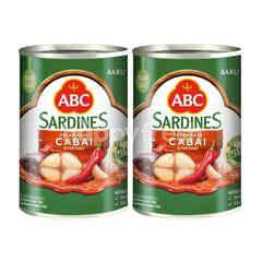 ABC Chili Sauce Sardines Twinpack 425g
