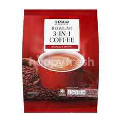 Tesco Regular 3-in-1 Premix Coffee (30 Packets)