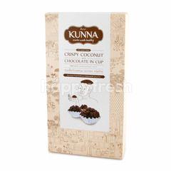 คันนา ขนมช็อกโกแลตนม อบกรอบ ชนิดถ้วย