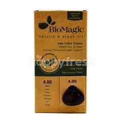 Biomagic Keratin And Argan Oil Hair Color Cream- Brown Color