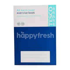 Tesco A4 Hard Cover Exercise Book