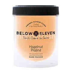 บีโลว อีเลฟเว่น ไอศกรีมกระปุก รสพราลีน เฮเซลนัท 380 มล.