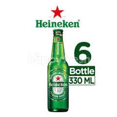 Heineken International Lager Bir Botol 6 Packs