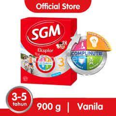 SGM Eksplor 3 Plus Susu Pertumbuhan 3-5 Tahun Vanila