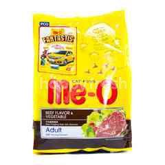 Me-o Cat Food Adult Beef Flavor & Vegetable