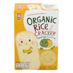 APPLE MONKEY Organic Rice Cracker Pumpkin Flavour