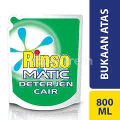 Rinso Matic Liquid Laundry Detergent Top Load Wash Machine