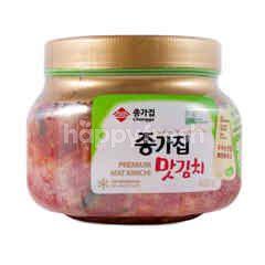 Chongga Cut Cabbage Kimchi - Premium Mat Kimchi