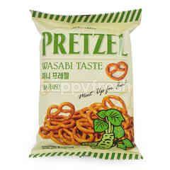 Samjin Pretzel Wasabi Taste