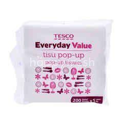 Tesco Pop-Up Tissues