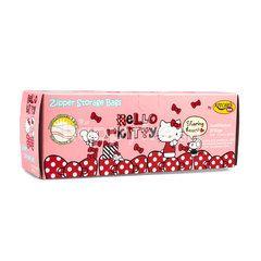 Kitchen Neat Hello Kitty Zipper Storage Bag 17 X 20.3 cm