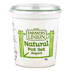 Farmers Union Natural Yoghurt Pot Set