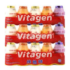 Bundles Vitagen Assorted Cultured Milk Drink 125ml Triplepack