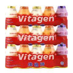 Bundles Vitagen Assorted Cultured Milk Drink 125ml Triplepack