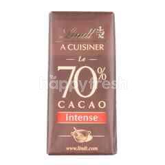Lindt A Cuisiner Le 70% Cacao Intense
