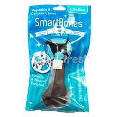 SmartBones Dental Vegetable and Chicken Chews Medium Stick